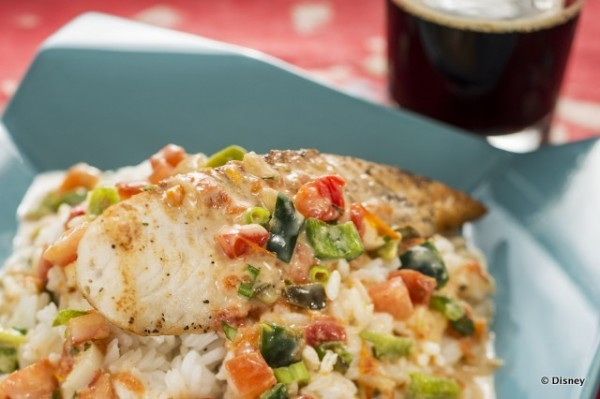 Mocequa de Pescado: Regal Springs Premium Tilapia with Coconut Lime Sauce and Steamed Rice