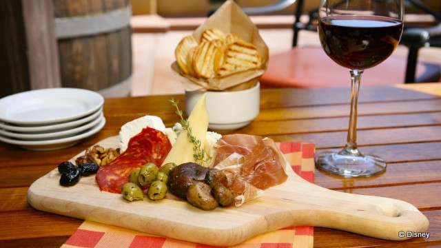 Charcuterie and Cheese Board & News! Enjoy Disney Family of Wines and a New Menu at Alfresco ...