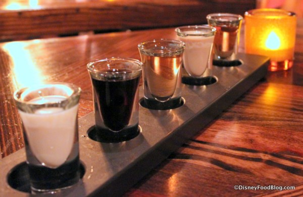 "La Cava ""Dessert Flight"""