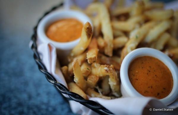 Pommes Frites from Disneyland's Cafe Orleans