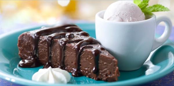 Chocolate Espresso Torte in Disney World
