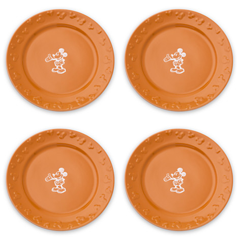 Gourmet Mickey Mouse Dinner Plate Set