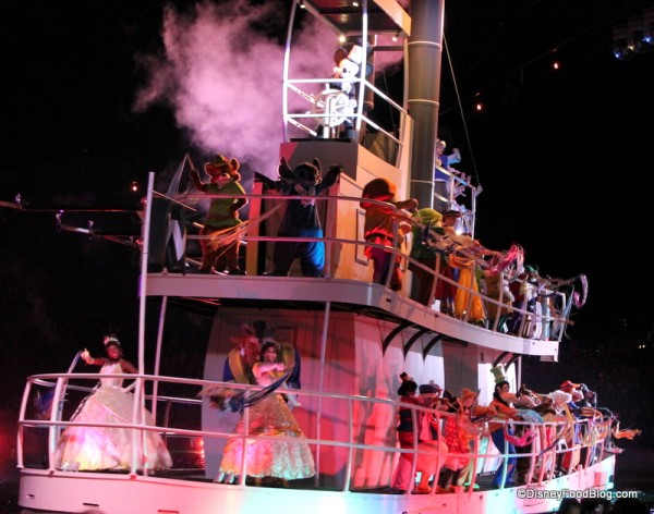 Hollywood Studios Fantasmic (13)