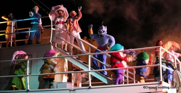 Fantasmic! Boat