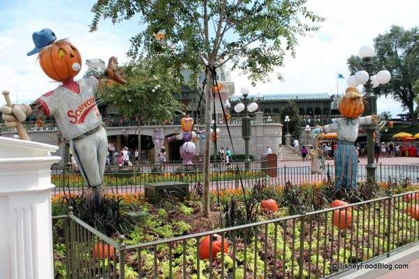 Magic Kingdom Scarecrows