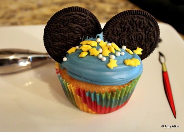 Mickey Cupcake
