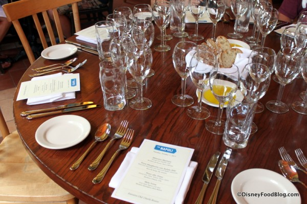 The Table is Set