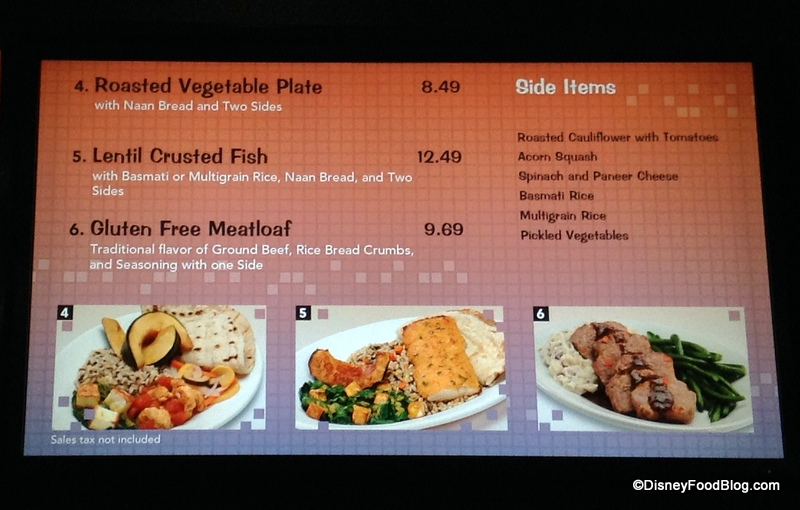 What s new around disney world september 4th 2014 the for Artistic cuisine menu