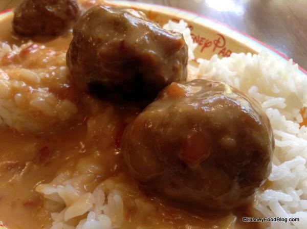 Meatball closeup
