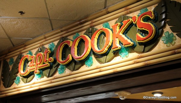 Captain Cook's sign