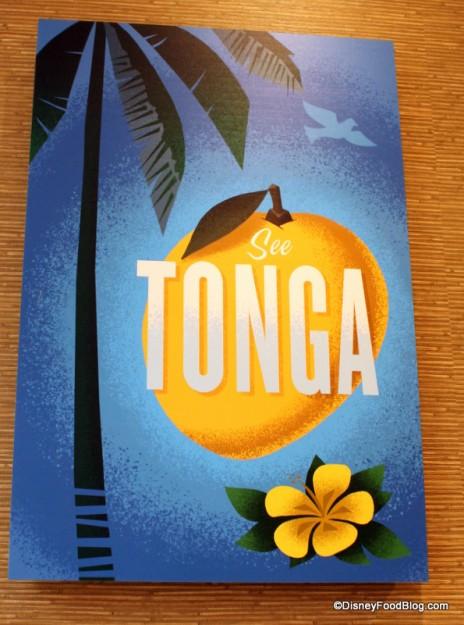 Tonga poster