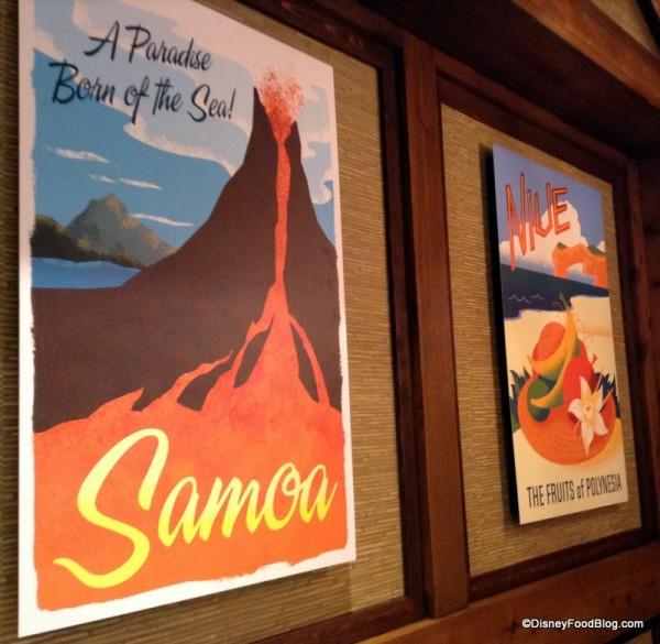 Samoa and Niue posters
