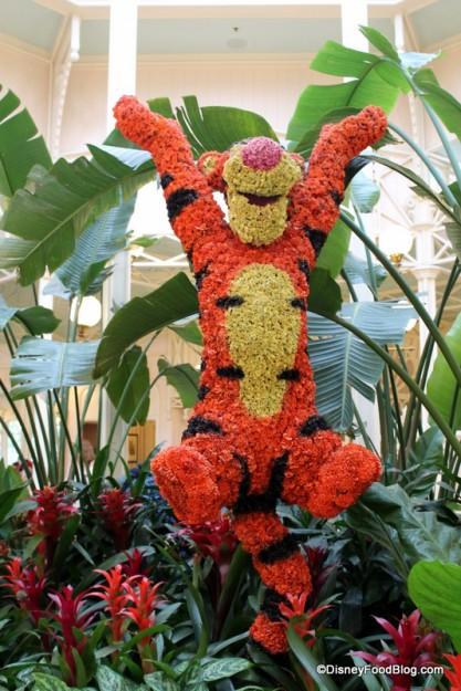 Bouncing Tigger Topiary