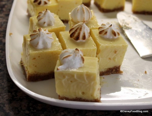 Key Lime Pie -- Up Close