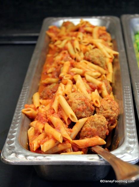 Pooh's Corner -- Multigrain Pasta with Meatballs