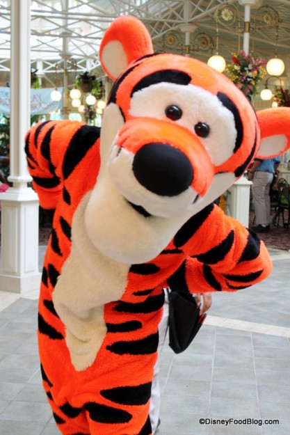 Tigger at The Crystal Palace