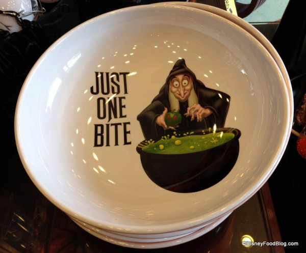 """Just One Bite"" candy bowl"