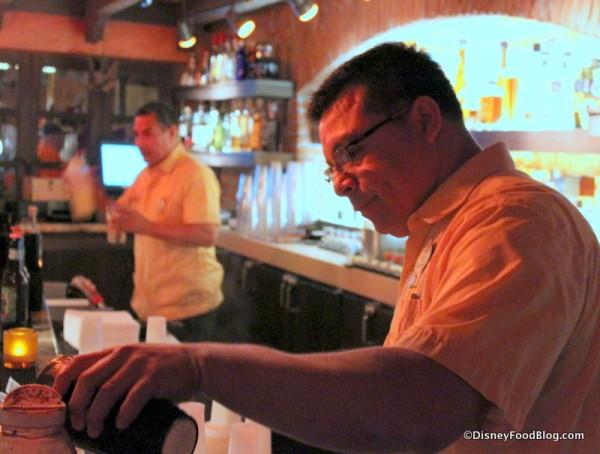 La Cava Bartenders hard at work