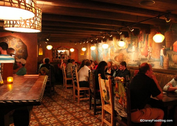 Seating in La Cava