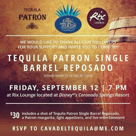 Cava del Tequila event