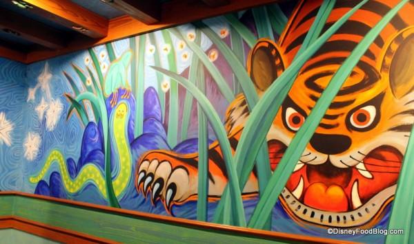 Pizzafari mural