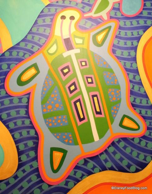 Turtle mural
