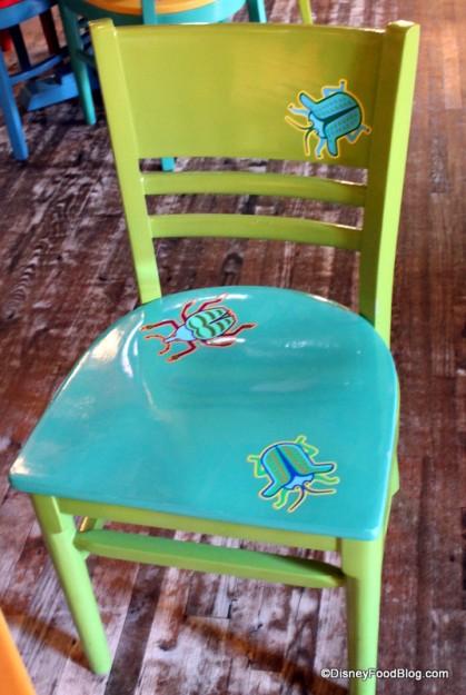 Pizzafari chair