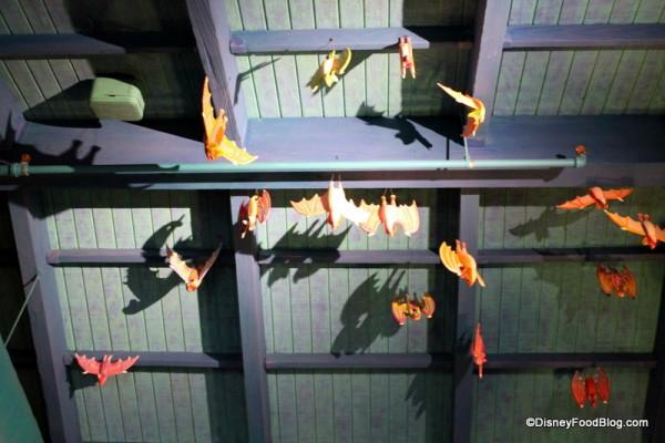 Bat ceiling