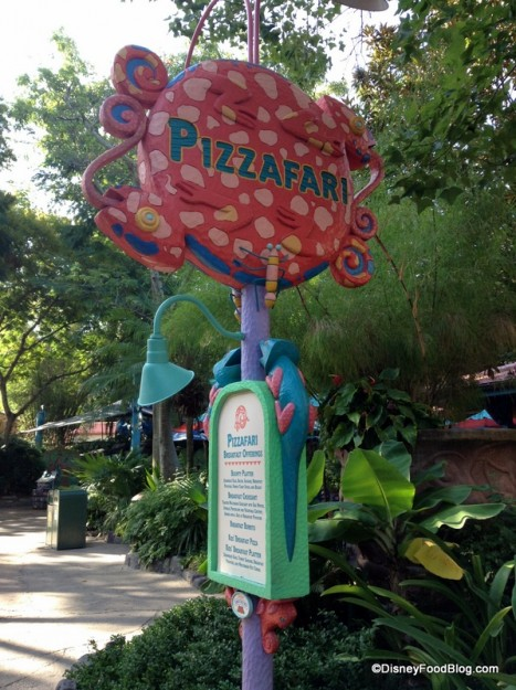 Pizzafari may be getting a Table Service neighbor