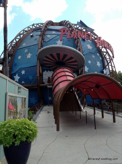 Entrance to Planet Hollywood