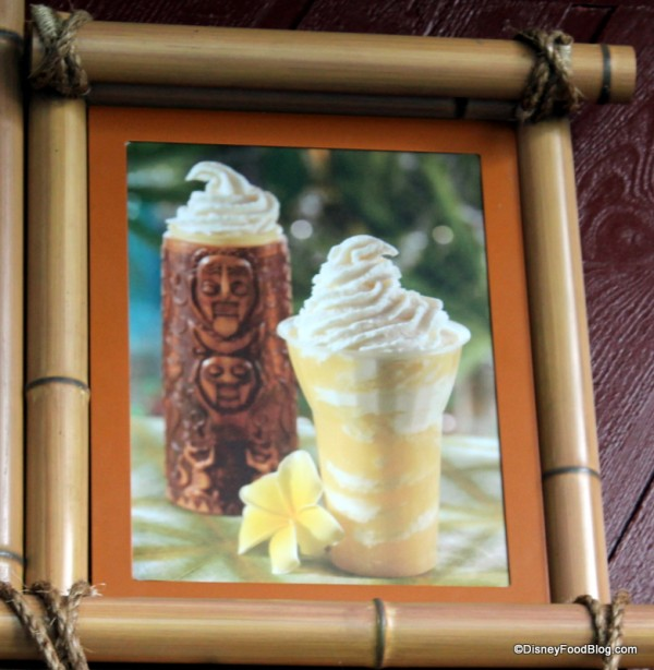 Tiki Sipper menu picture