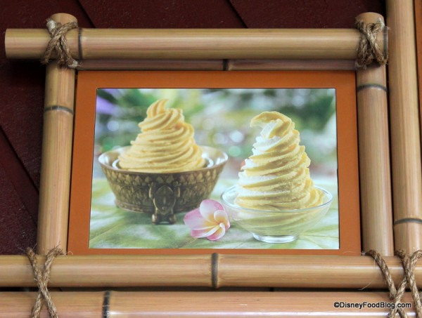 Tiki Bowl menu picture