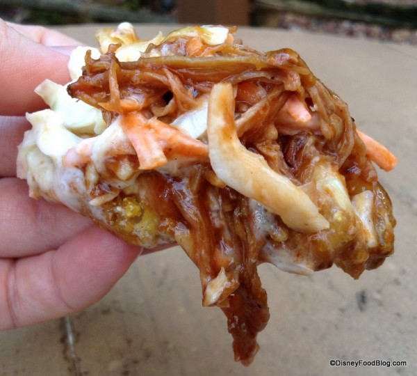 Pork Barbeque Waffle Fry
