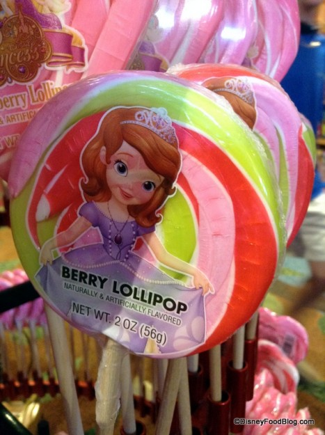 Sofia the First Berry Lollipop