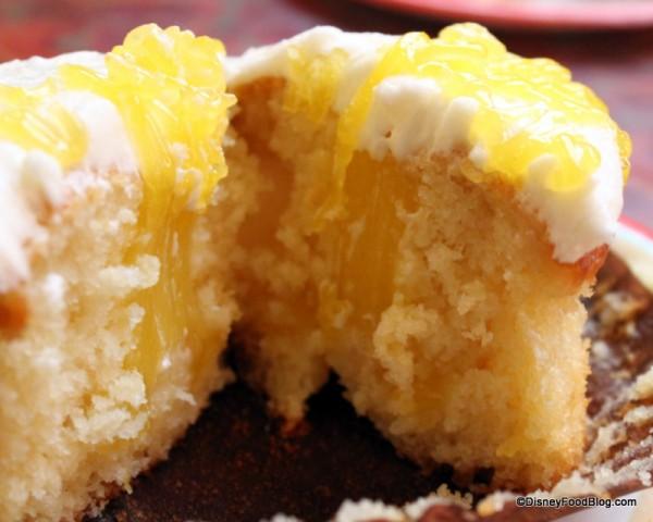 Inside Lemon Blast Cupcake