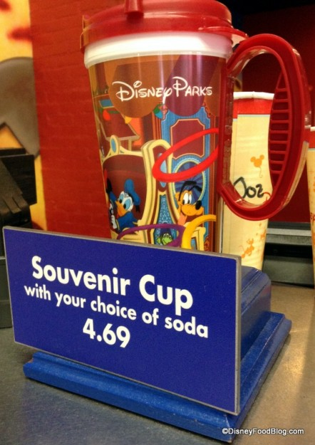 Toy Story Midway Mania Souvenir Cup