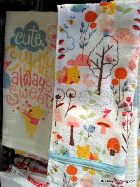 Winnie the Pooh kitchen towel set