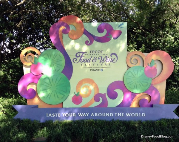 Welcome to the Food and Wine Festival!