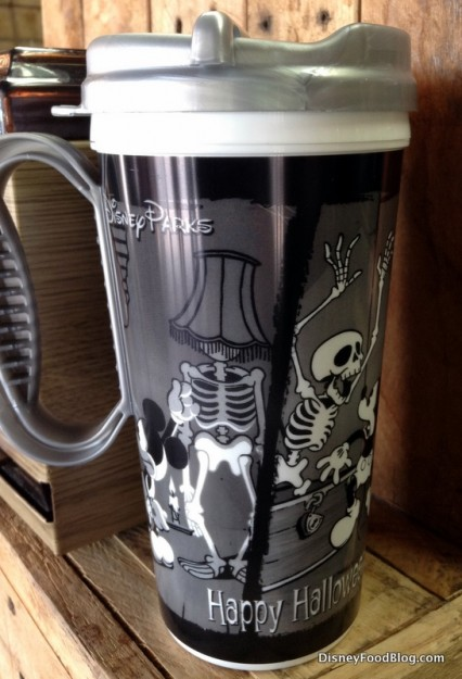Closeup of Halloween Mug