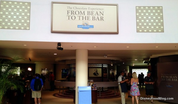 Bean to Bar Exhibit