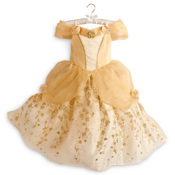 Deluxe Belle Costume for Halloween and Dinner at the Beast's Castle!