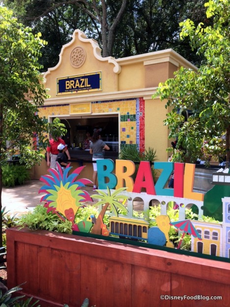 Epcot Food and Wine Festival Brazil Marketplace Booth