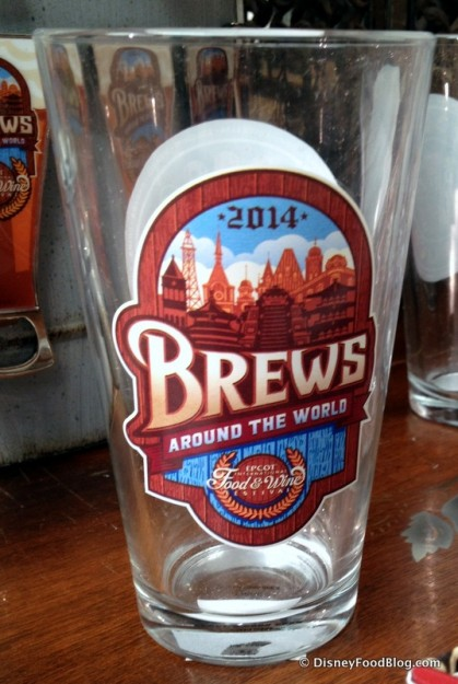 Brews Pint Glass