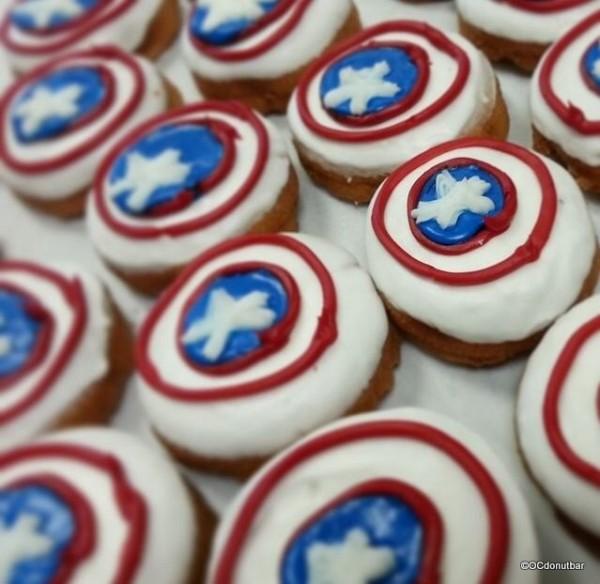 Captain America Donuts