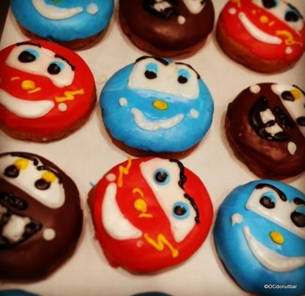 Cars Donuts Featuring Sally, Mater and Lightning McQueen