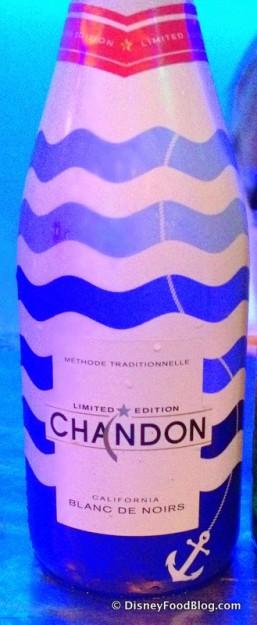 Chandon Blanc de Noir at Block & Hans