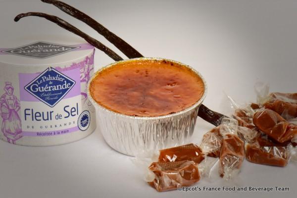 Crème brûlée caramel fleur de sel
