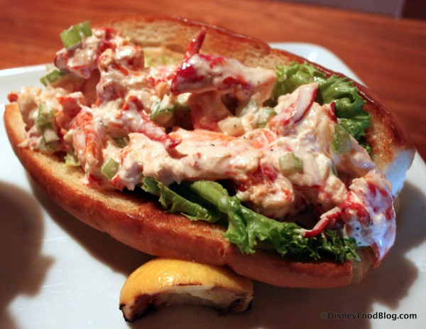 Lobster Roll -- Up Close