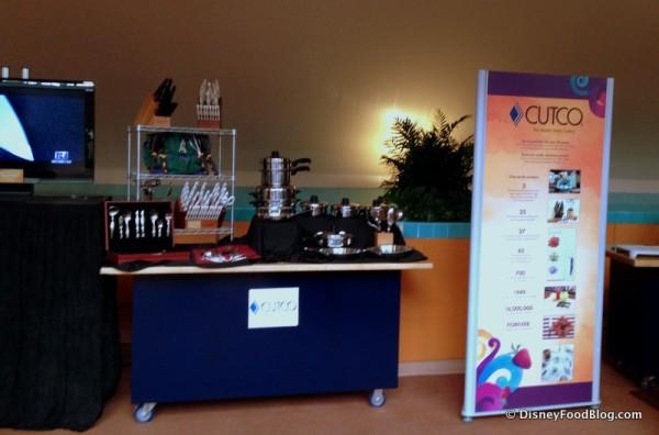 Cutco Merchandise Display