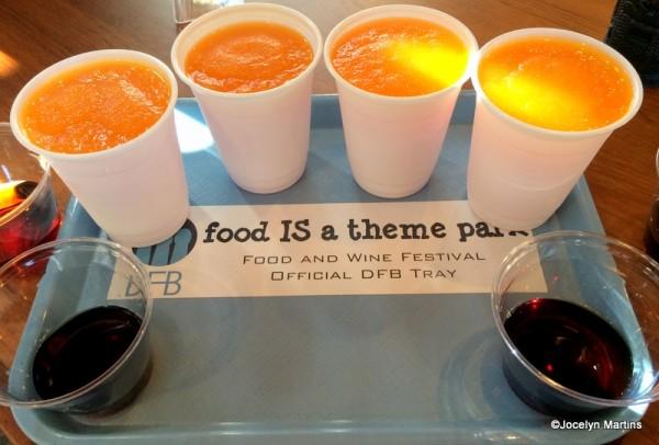 DFB tray for Jungle Juice Slushies & Rum